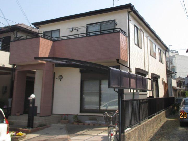東京 葛飾区 外壁塗装 事例1