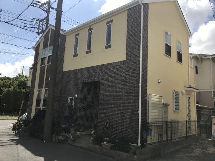 東京 江戸川区 Y様邸 住宅の外壁&屋根塗装