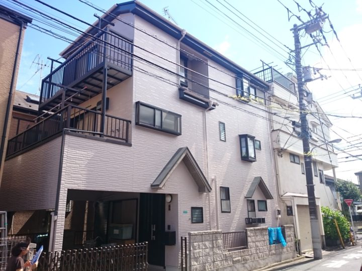 東京 江戸川区 住宅の外壁&屋根工事