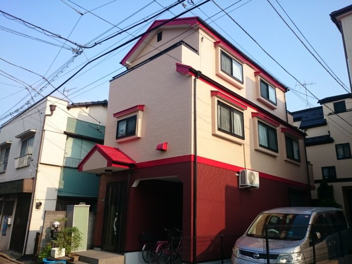 東京 江戸川区 住宅の外壁&屋根塗装