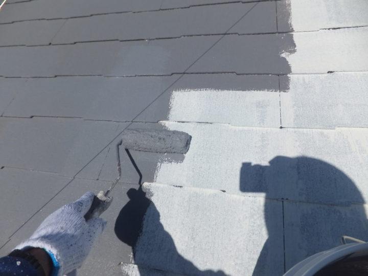 屋根塗装 ②