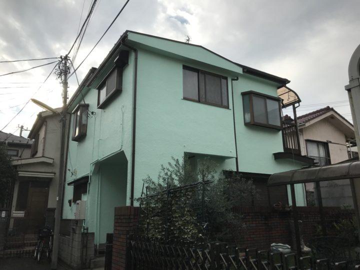 東京 葛飾区 I様邸 外壁塗装工事