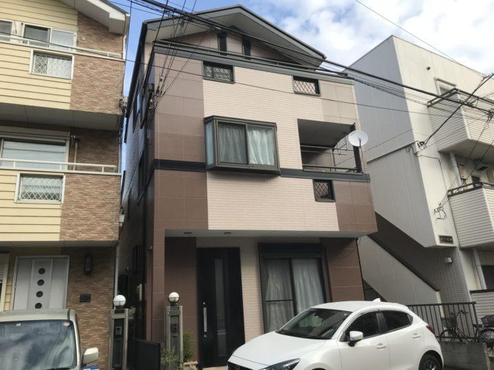 東京 江戸川区 Y様邸 外壁塗装工事