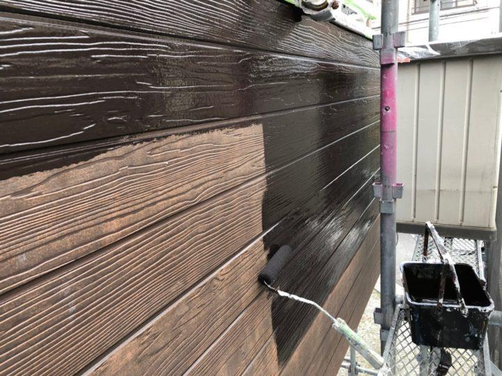 付帯部 木部塗装/下塗り
