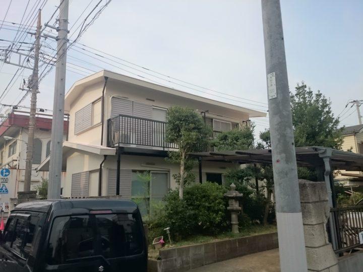 【江戸川区】 T様邸 外壁塗装・屋根塗装工事