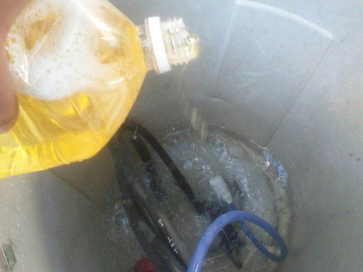 洗浄/薬品混合