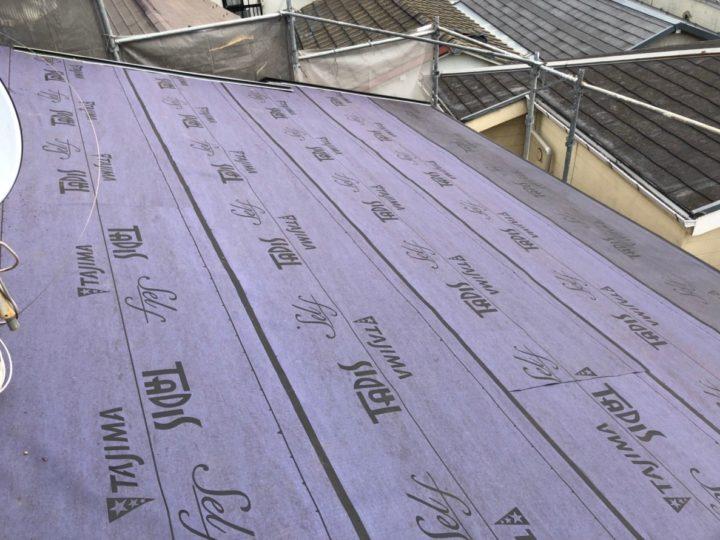 屋根修繕工事①