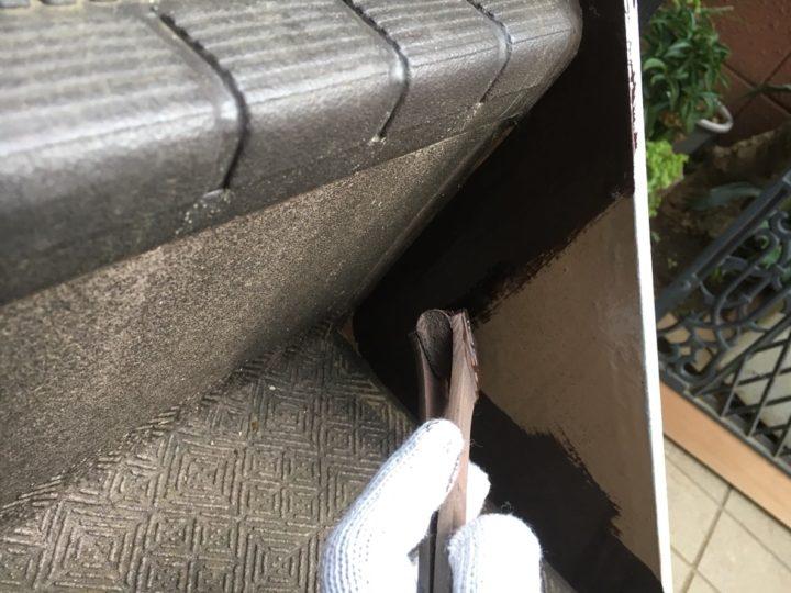 鉄部塗装/階段