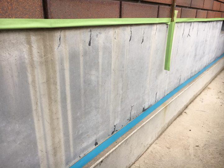 基礎廻り塗装前