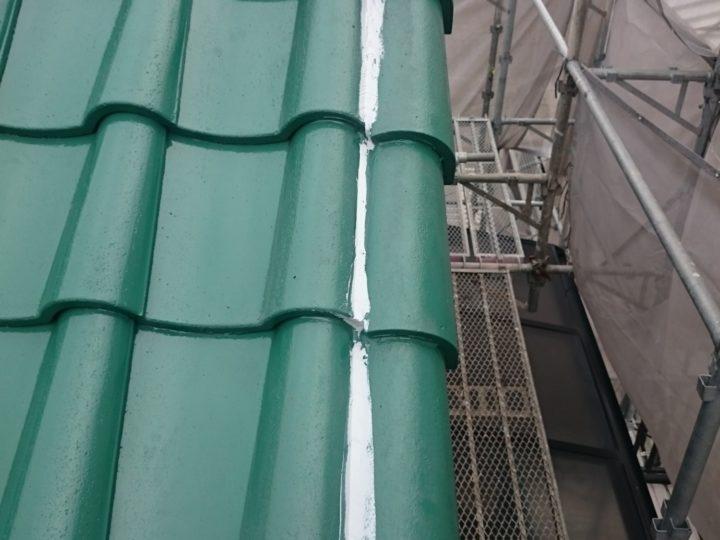 屋根部分補修/シーリング充填