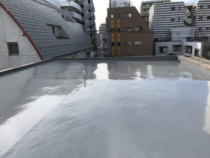 【東京 墨田区】 N様邸 雨漏り修繕・屋上防水工事 |ラクスト 外壁塗装&屋根専門店 施工データ