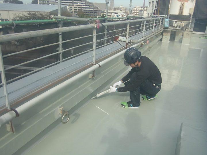 屋上/入隅シーリング