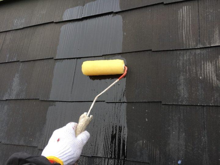 コロニアル屋根塗装①