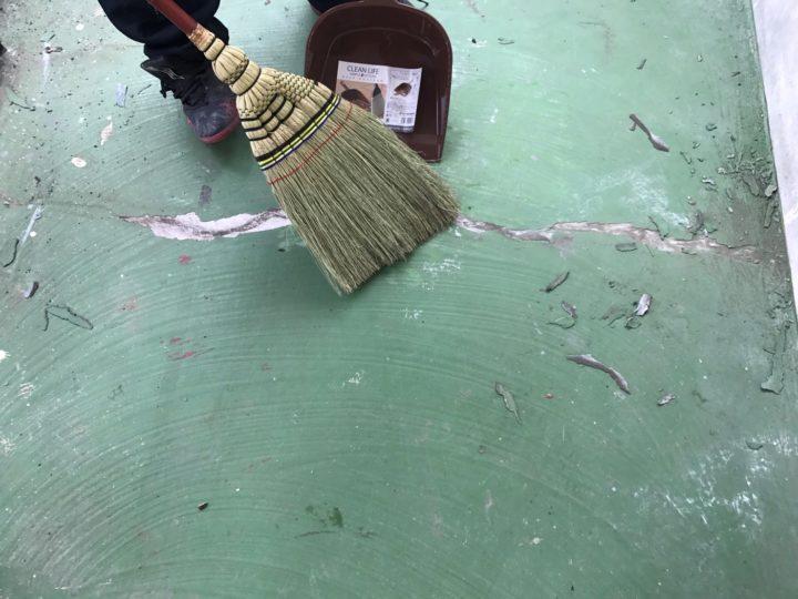 清掃(踊り場)