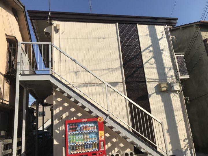 【葛飾区】 Vコーポ 外壁塗装・屋根塗装施工事例 |東京城東エリア(江戸川区、葛飾区、墨田区、江東区、足立区、台東区)ラクスト