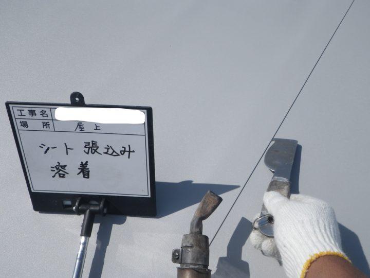 塩ビシート防水/平場⑫