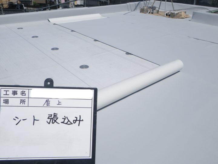 塩ビシート防水/平場⑩
