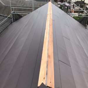 東京 江戸川区 屋根葺き替え工事
