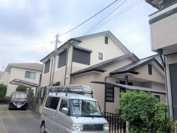 【葛飾区】外壁塗装・O様邸