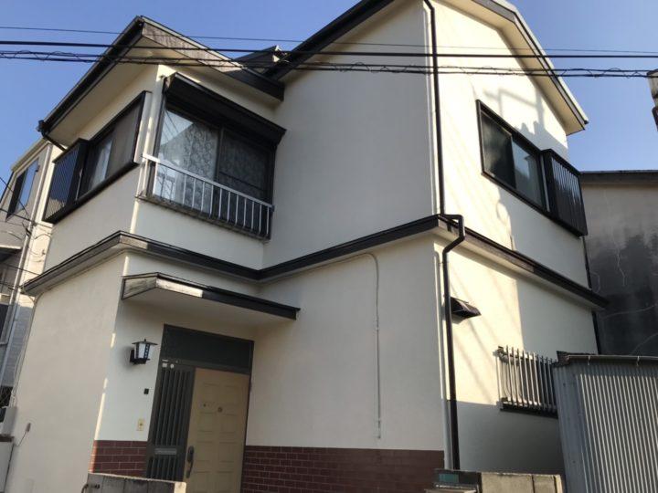 【葛飾区】 S様邸 外壁塗装 施工事例