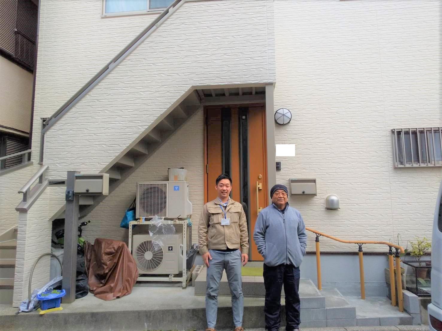 【江戸川区】 S様邸 外壁塗装