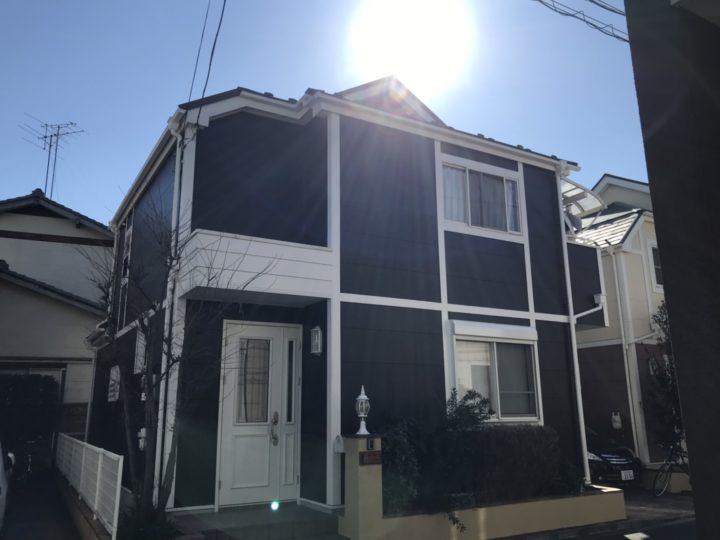 【江戸川区】 S様邸 外壁塗装 屋根リフォーム 施工事例