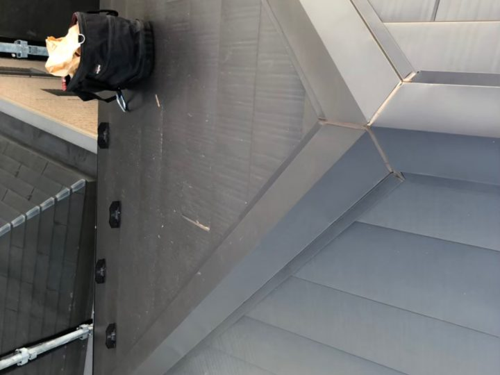 【葛飾区】 O様邸 屋根重ね葺き 施工事例