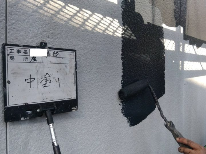 外壁塗装(ツートン)④