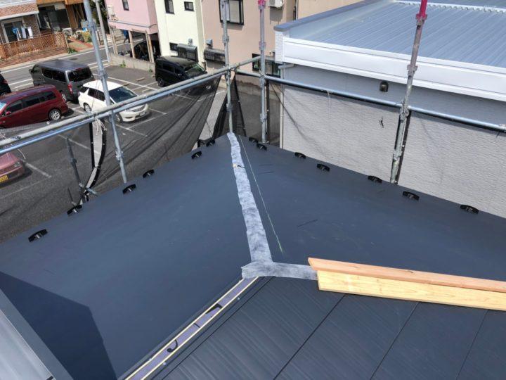 屋根重ね葺き③