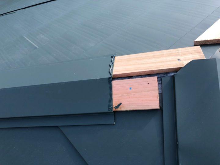 屋根重ね葺き⑧