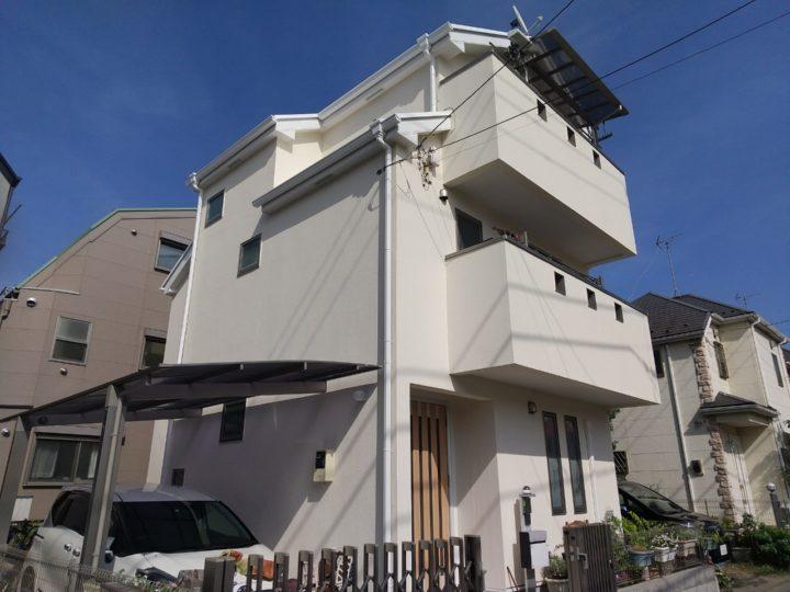 【葛飾区】外壁塗装・Y様邸