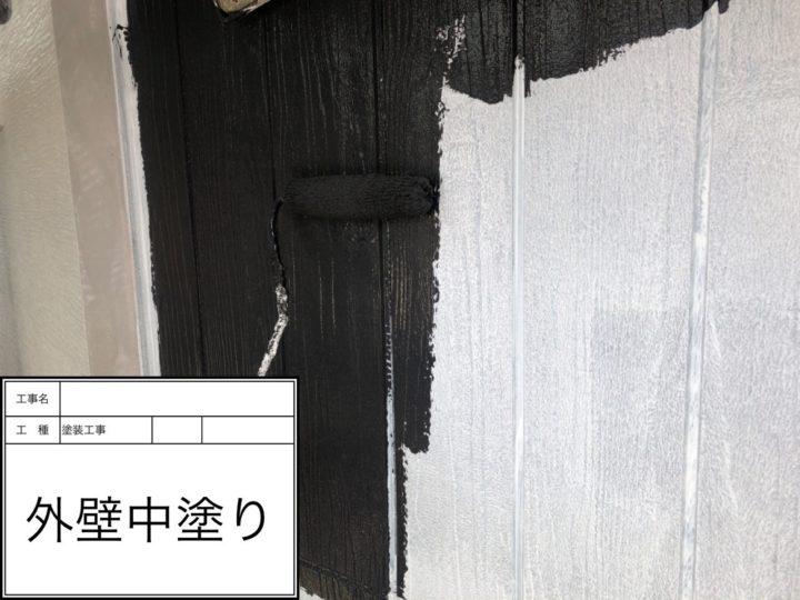 外壁塗装(アクセントカラー)②