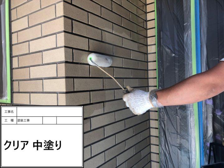 外壁塗装(クリヤー)①
