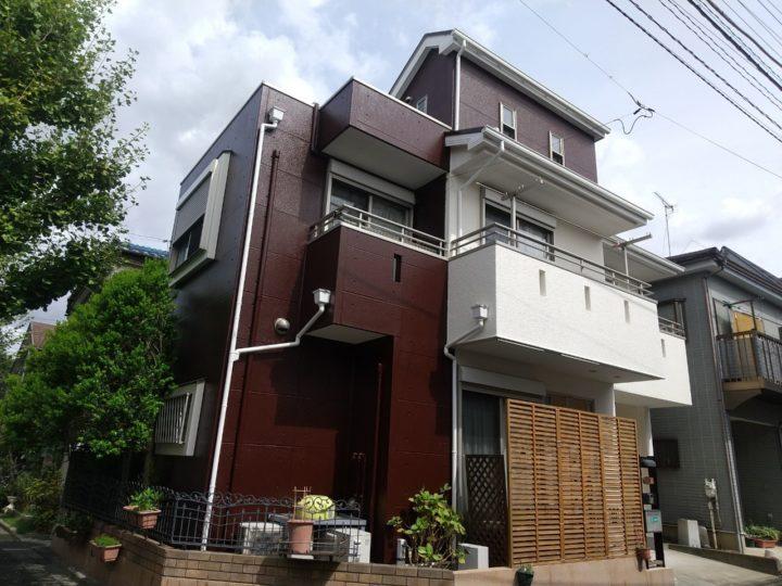 【江戸川区】外壁塗装・M様邸