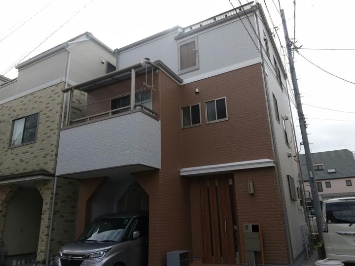 【葛飾区】外壁塗装・I様邸
