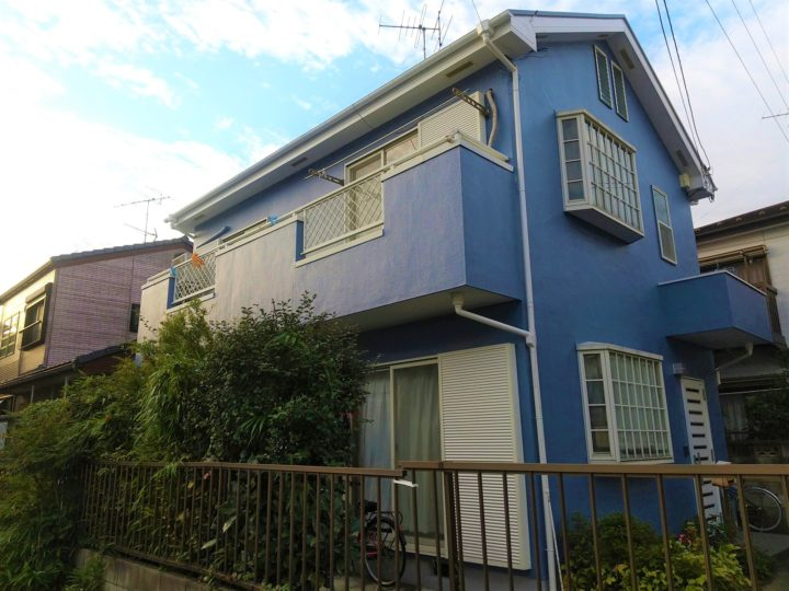 【江戸川区】外壁塗装・W様邸
