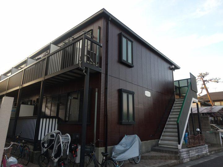 【江戸川区】外壁塗装・Gアパート様