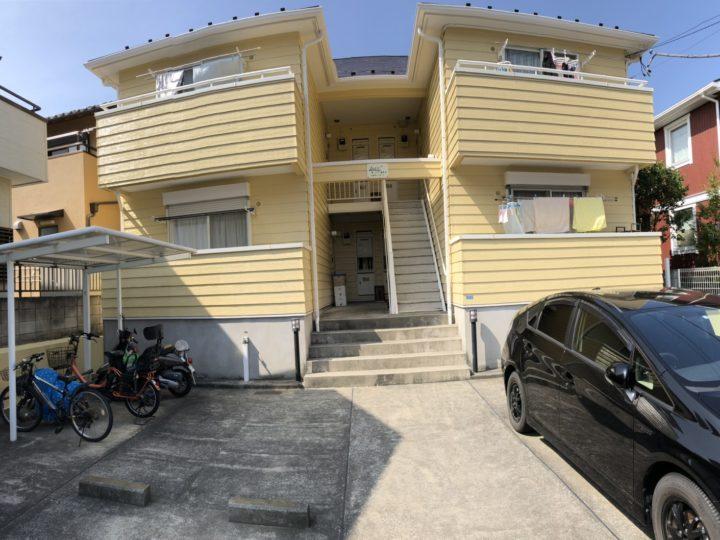 【横浜市】外壁塗装・Hアパート様