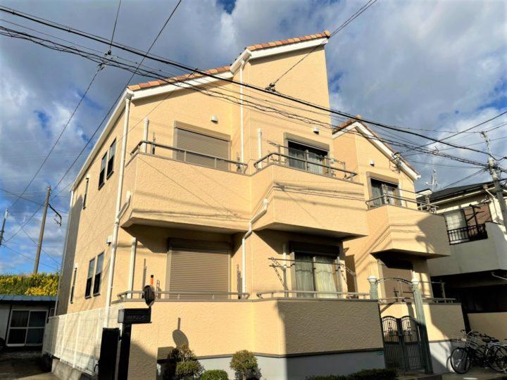 【江戸川区】外壁塗装・Fアパート様