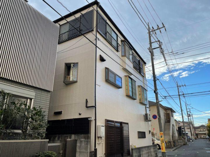 【江戸川区】外壁塗装・U様邸