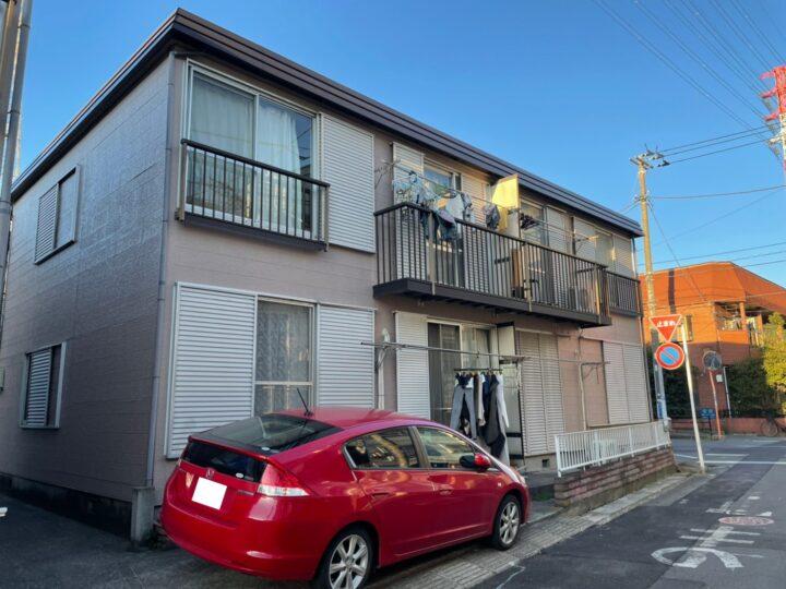 【市川市】外壁塗装・Hアパート様