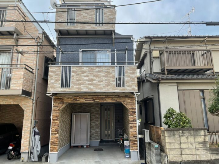 【江戸川区】外壁塗装・H様邸