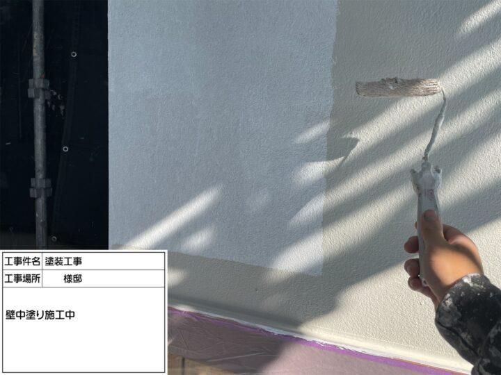 外壁塗装(モルタル壁)②