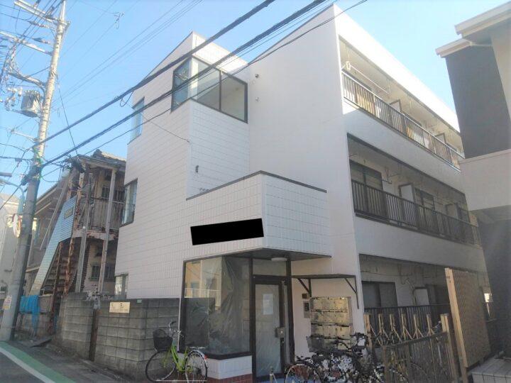 【江戸川区】外壁塗装・Vハイツ様