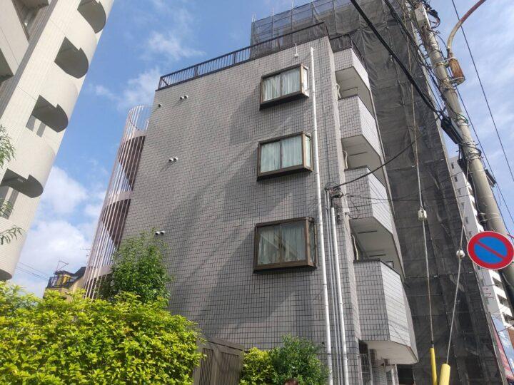【江戸川区】外壁塗装・Mマンション様